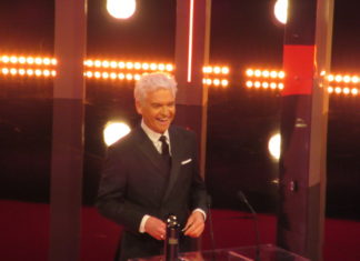 British Soap Awards host Philip Schofield