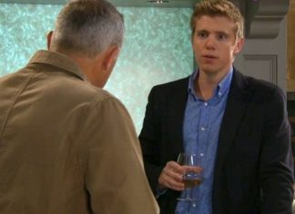 Emmerdale's Robert Sugden is in self destruct mode