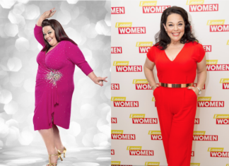 Ex-Emmedale star Lisa Riley aka Mandy Dingle