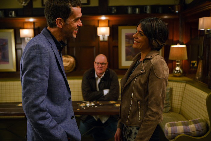 Paddy Kirk is rattled to be losing the dating bet with Marlon Dingle.