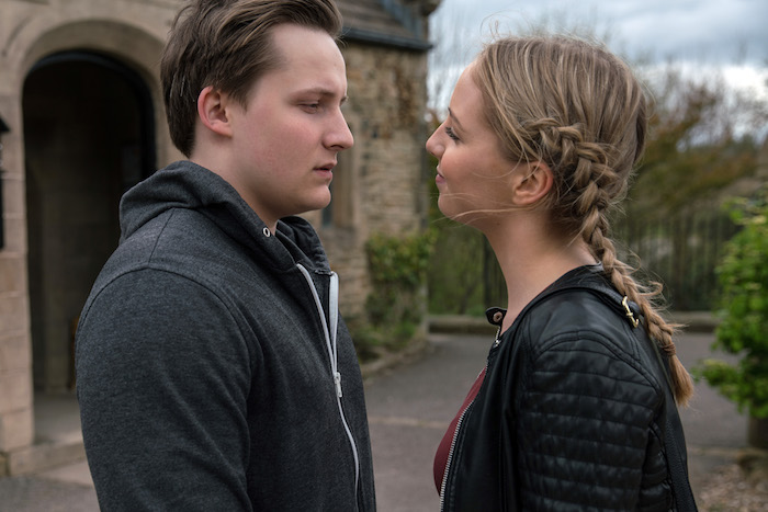Lachlan White and Belle Dingle flirt,