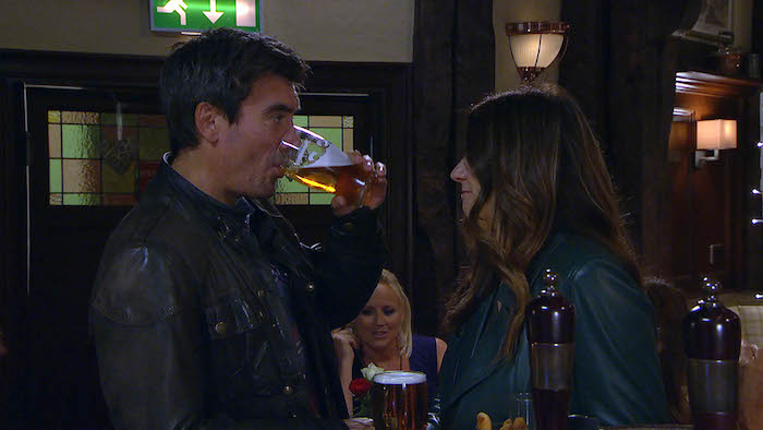 Cain Dingle and Harriet Finch discuss their relationship