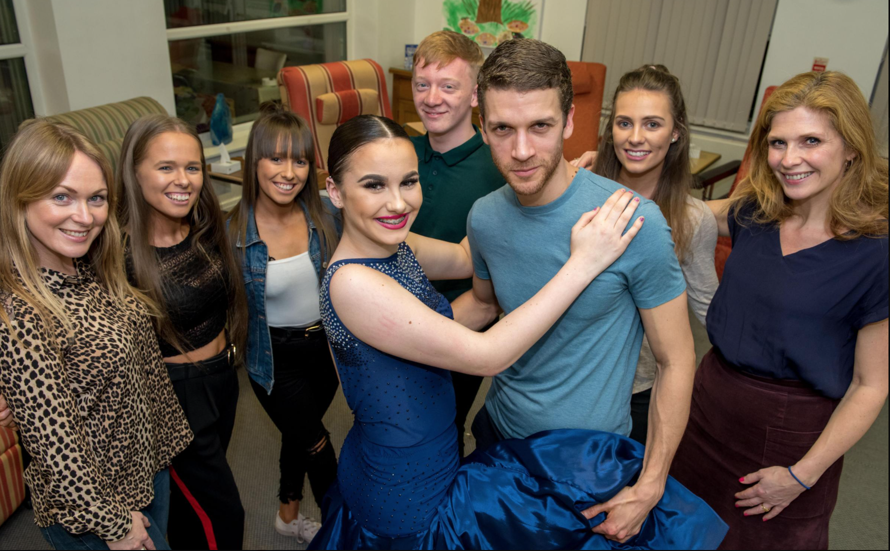 Emmerdale News: Emmerdale Stars take to the dancefloor for a 'Knight of Dance'