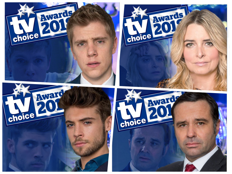 Emmerdale News: TV Choice Awards shortlist revealed (vote now!)