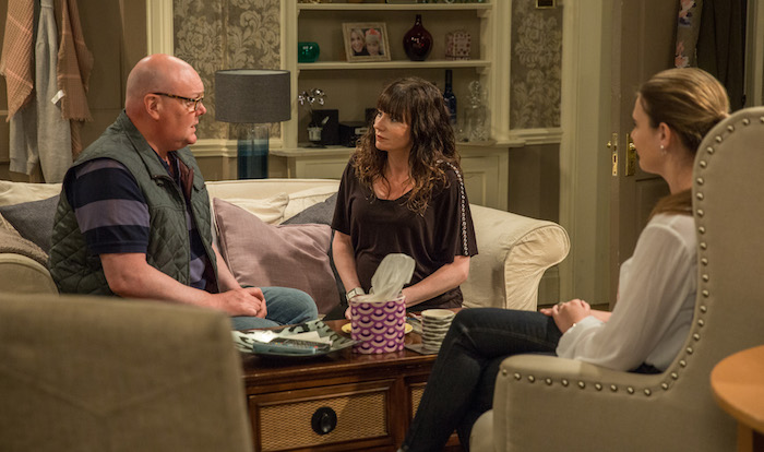 Emmerdale Spoilers: Lucy Pargeter and Dominic Brunt on Chas and Paddy's baby storyline
