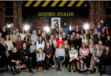 Emmerdale's cast and crew celebrate International Women's Day