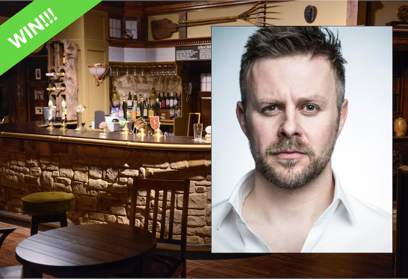 Emmerdale Competition: Win two tickets to meet Tom Lister aka Carl King!