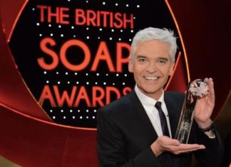 British Soap Awards 2019 hosted by Philip Schofield