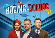 Tom Lister stars in Boeing-Boeing
