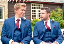 Danny Miller and Ryan Hawley as Robron in Emmerdale