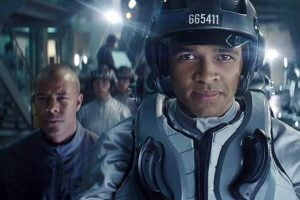 Michael Wildman and Asan NJie in Ready Player One