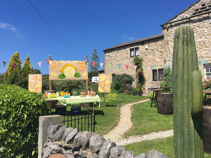 Emmerdale to Emmerdeadsville - The final painted signs and their position in the Village