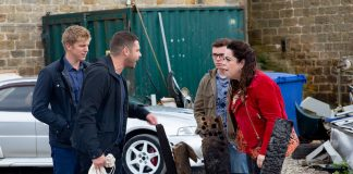 Aaron's heartbroken says actor Danny Miller