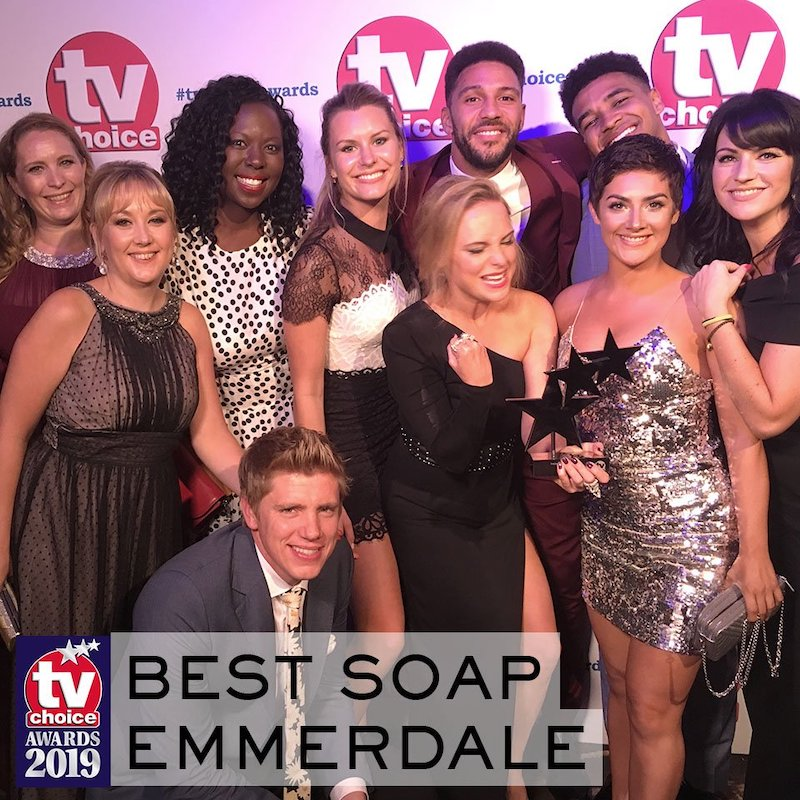 Emmerdale News: Emmerdale wins Best Soap at TV Choice Awards