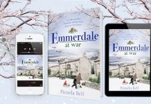 Emmerdale at War book released