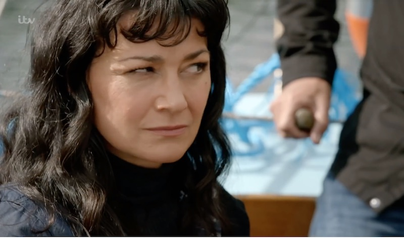 Emmerdale Spoilers: Moira Dingle's affair comes to watery end. Natalie J Robb interview