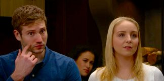 Belle Dingle and Jamie Tate's affair exposed in Emmerdale